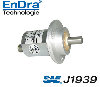 Wachendorff Automation Encoders : encoder absoluto, CAN SAE J1939