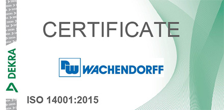 Certification DIN EN ISO 14001